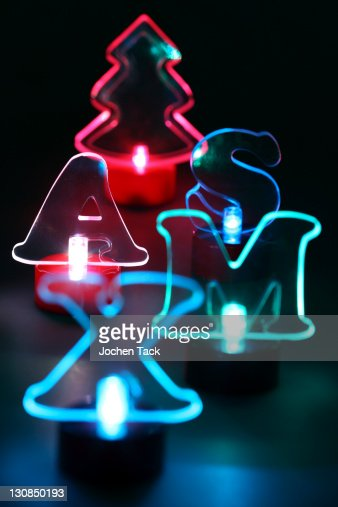 similar images - Lighted Christmas Decorations