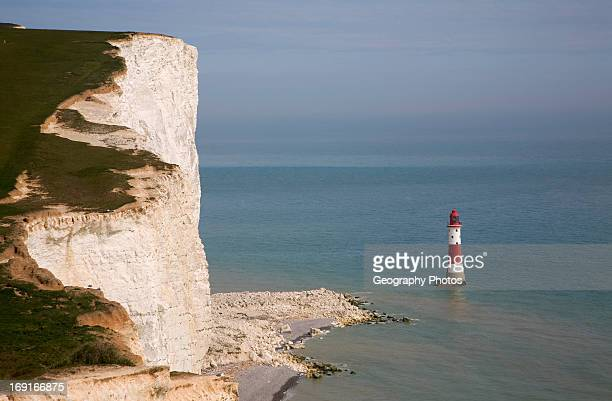 Lighthouse at Beachy Head Sussex England