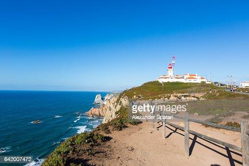 Lighthouse at Cabo da Roca, Sintra, Portugal