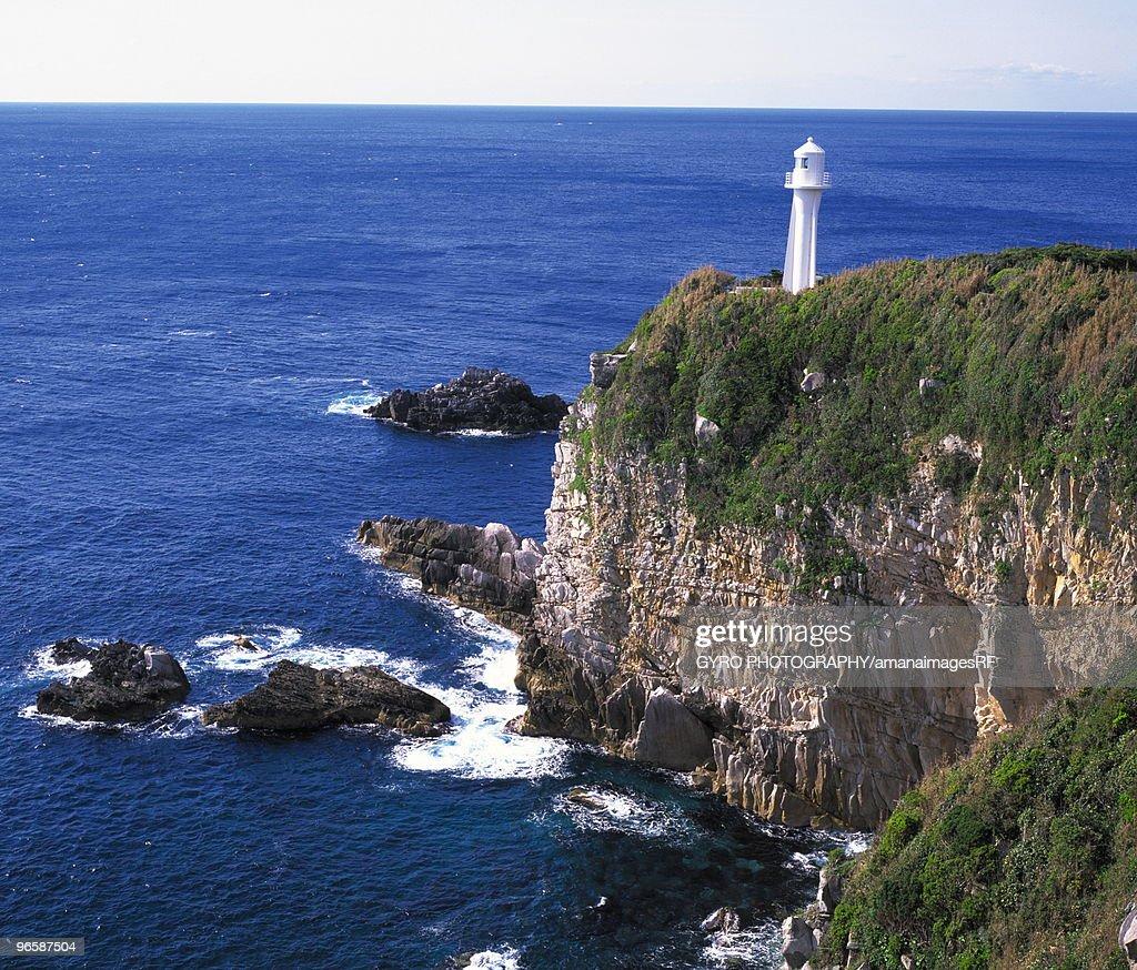 Lighthouse at Cape Ashizuri, Tosashimizu city, Kochi prefecture, Japan