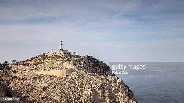 Lighthouse at Formentor Peninsula, Majorca, Balearic Islands, Spain