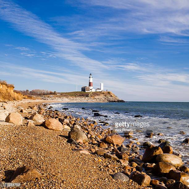 Lighthouse at Montauk point, Long Islans.