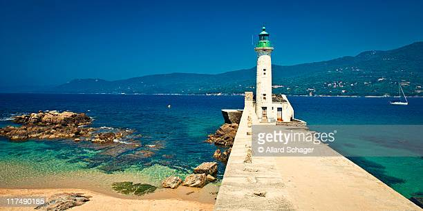 Lighthouse at Propriano Corsica