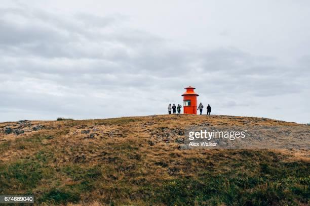 A lighthouse at Stykkisholmur, Iceland