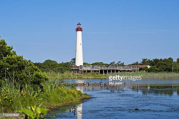 Lighthouse Cape May New Jersey NJ United States