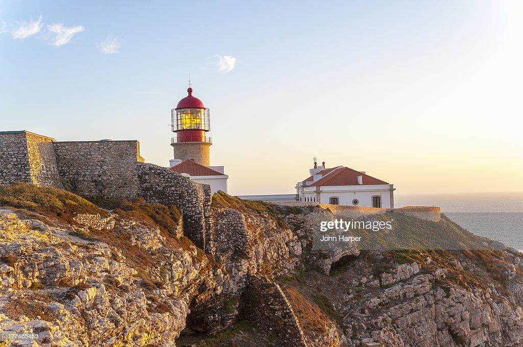 Lighthouse, Cape Sao Vicente, Sagres, Algarve