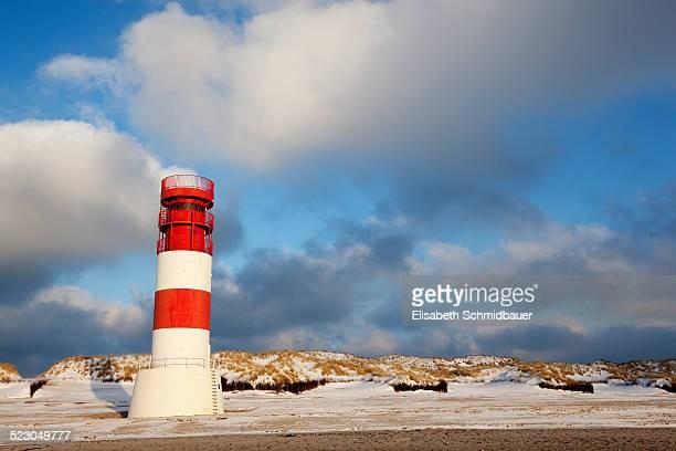Lighthouse, dunes, Helgoland, Schleswig-Holstein, Germany, Europe