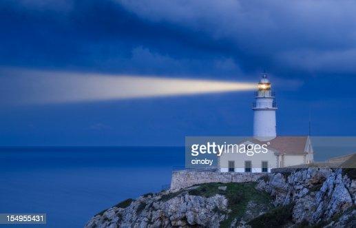 Lighthouse in Blue - Far de Capdepera