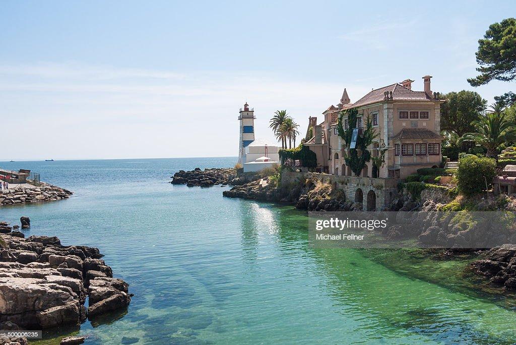 Lighthouse in Cascais - Portugal