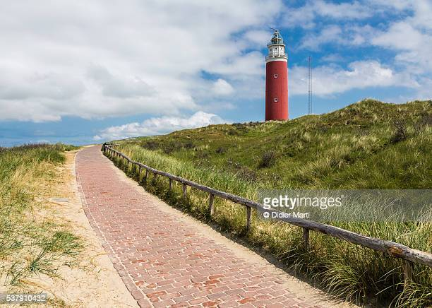 Lighthouse in Texel island, Netherlands
