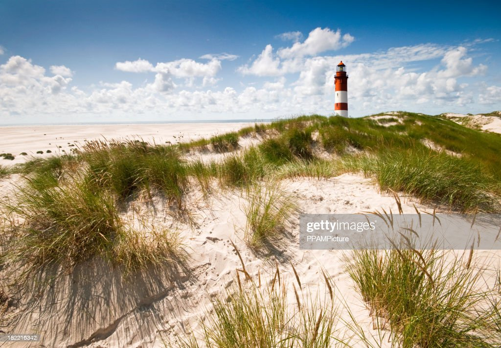 Lighthouse in the dunes