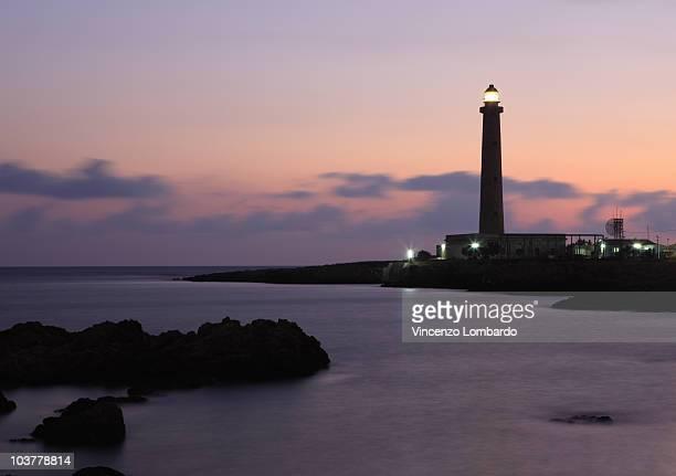 Lighthouse, Italy, Sicily, Favignana.