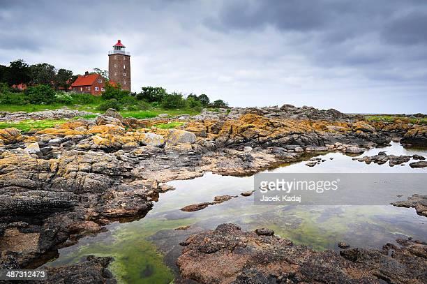 Lighthouse on Bornholm island