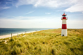 Lighthouse on the island Sylt / Germany