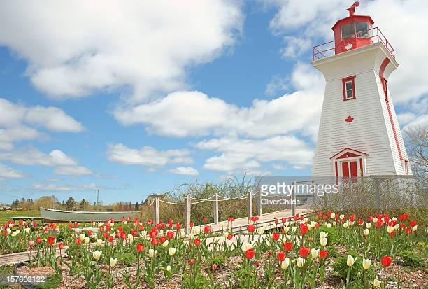Lighthouse. Prince Edward Island, Canada.