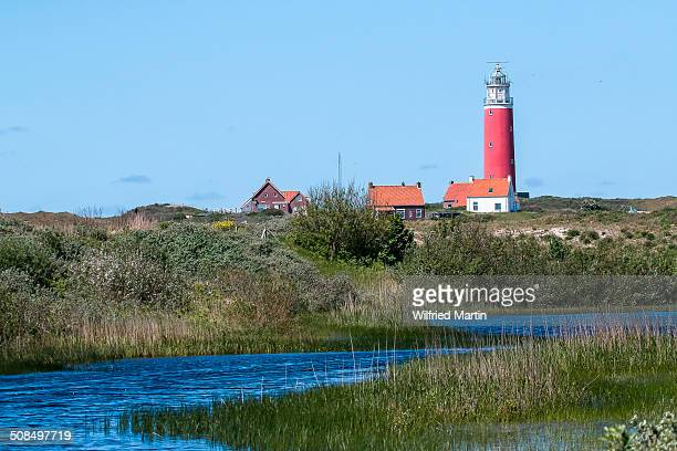 Lighthouse, Texel, West Frisian Islands, North Holland, Holland, The Netherlands