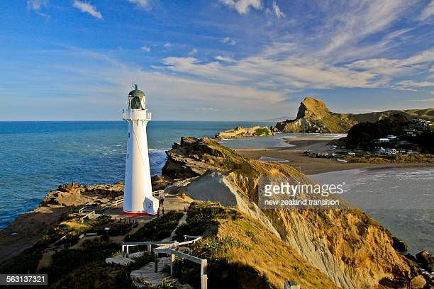 Lighthouse walk and Castle rock at Castlepoint
