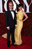 Lighting Designer Justin Townsend and Elena Araoz attend the 70th Annual Tony Awards at The Beacon Theatre on June 12 2016 in New York City