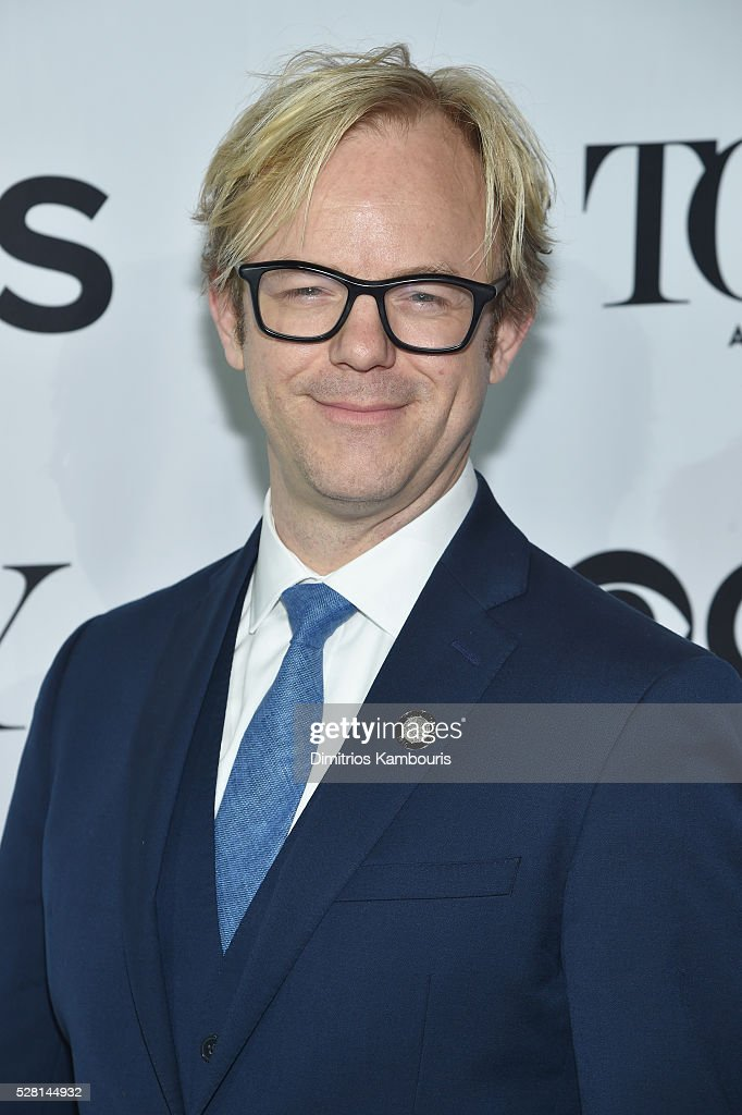 Lighting designer Justin Townsend attends the 2016 Tony Awards Meet The Nominees Press Reception on May 4, 2016 in New York City.