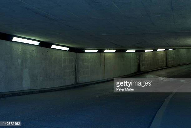 Lighting in tunnel