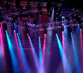 Lighting on stage