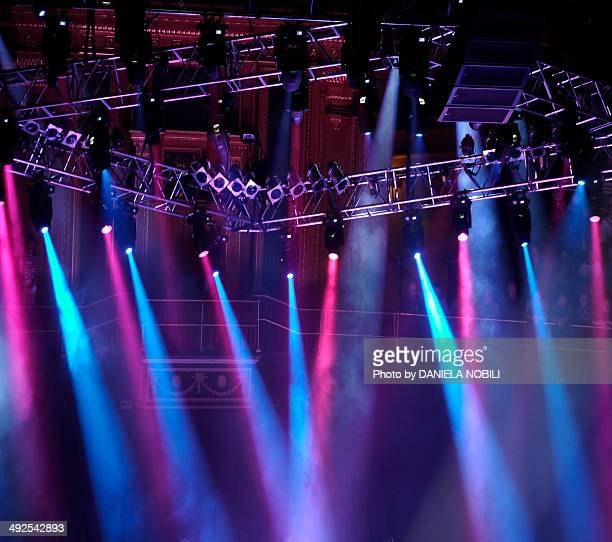 Lighting on stage
