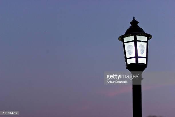 Lighting the evening