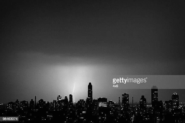 Lightning in Manhattan