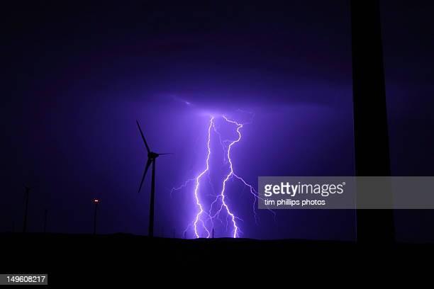 Lightning storm in Australia