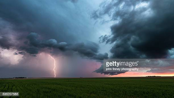 Lightning storm over Colorado