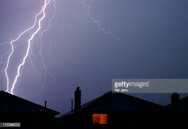 Lightning Strikes home