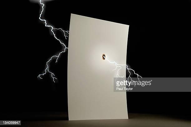 Lightning Through Paper
