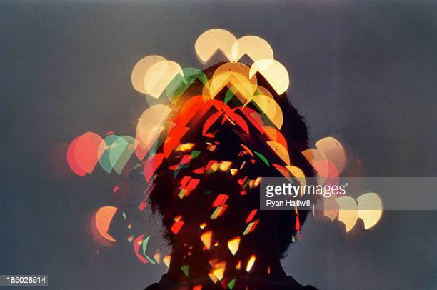 LIghts Dispersed Over A Self Portrait