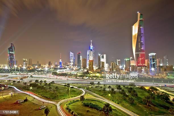 Lights Of Kuwait City