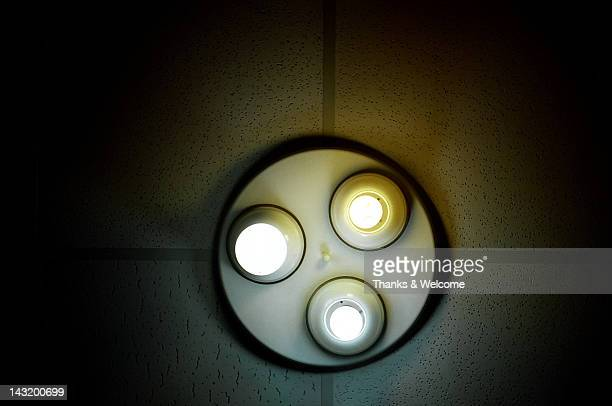 Lights on ceiling