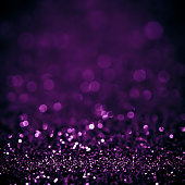 Lights on white purple background abstract beautiful blink light with bokeh bright winter and christmas decoration design blur backdrop luxury