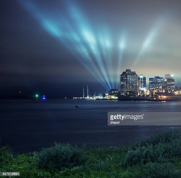 Lightshow in Halifax