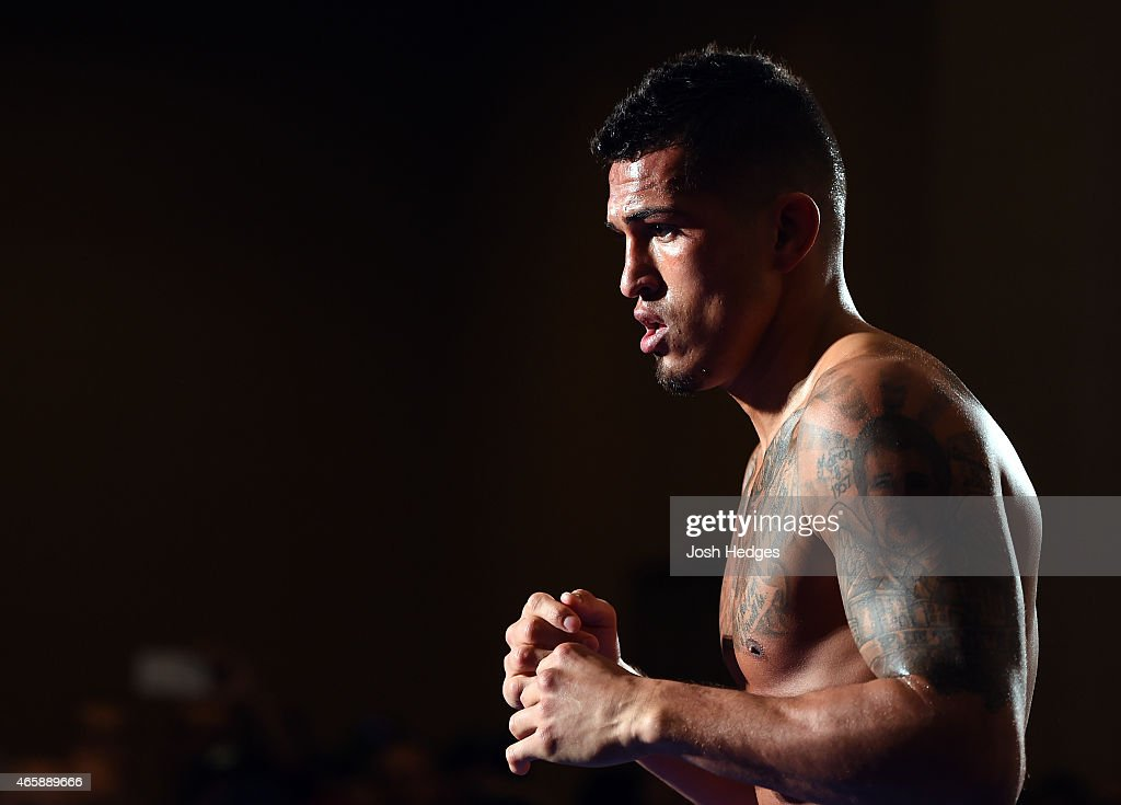 UFC 185: Open Workouts