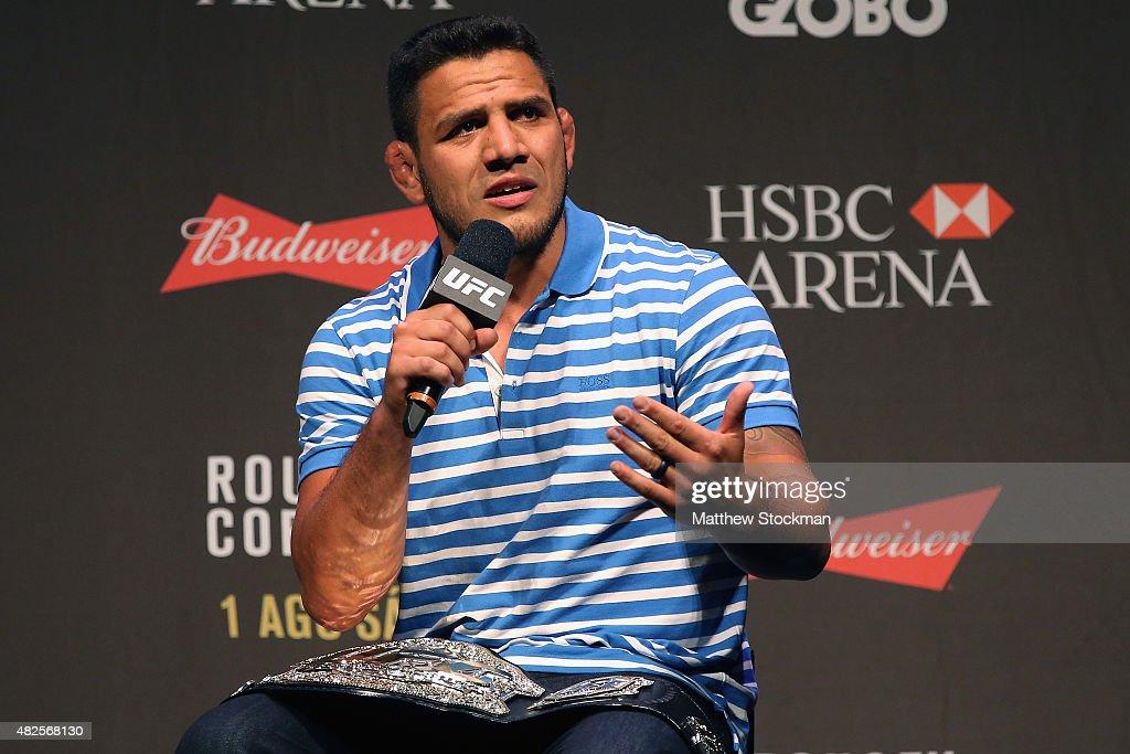 UFC 190 Weigh-in