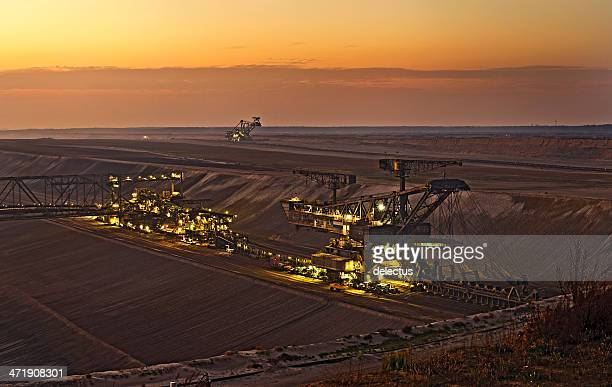 Lignite opencast mining