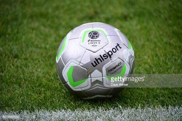 Ligue 2 matchday ball during the first round of French League Cup match between Paris FC and Brest on August 8 2017 in Paris France