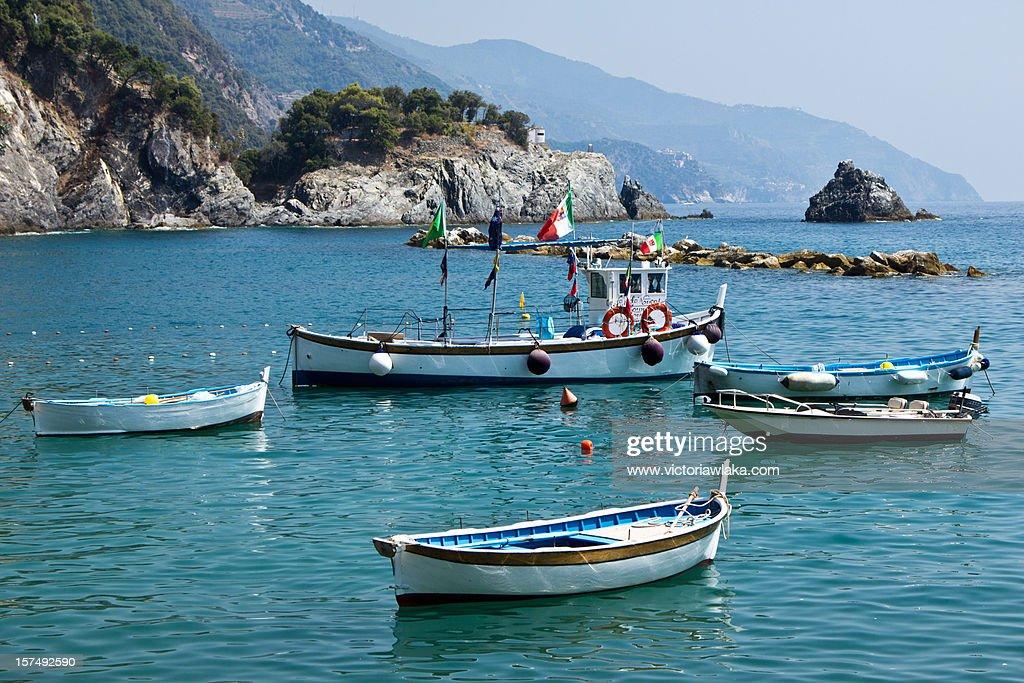 Liguria Boats : Stock Photo