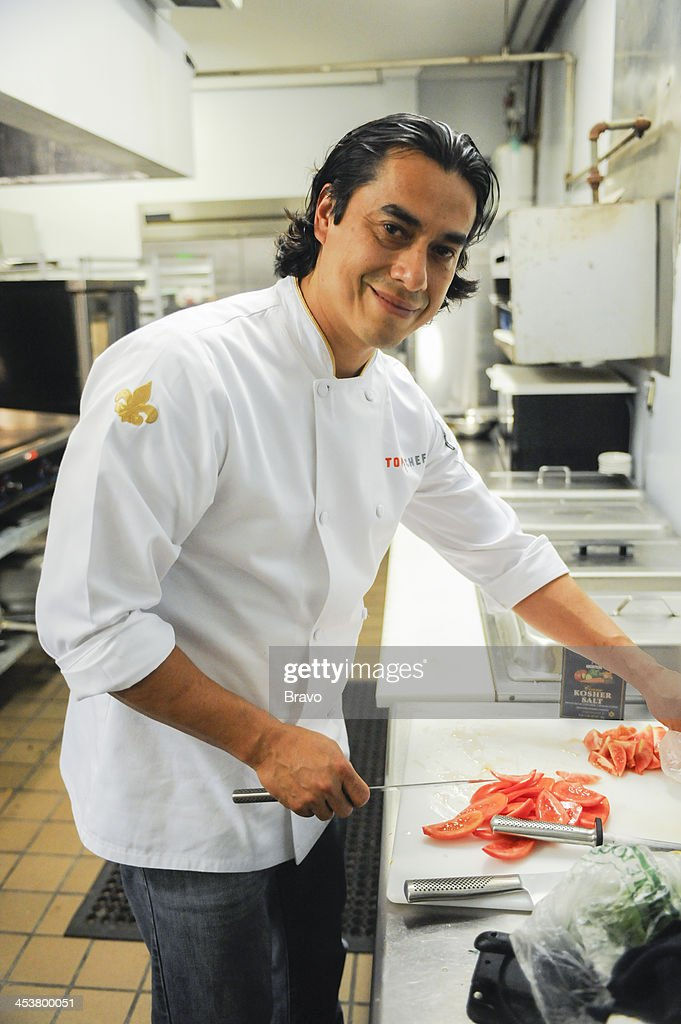 TOP CHEF -- 'Like Mama Made' Episode 1110 -- Pictured: Contestant Carlos Gaytan --