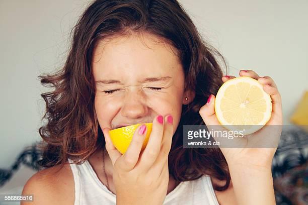 I like the lemon