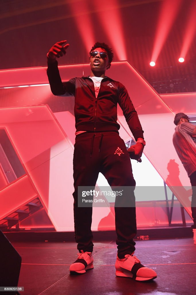Lil Baby onstage at Spotify's RapCaviar Live at The Tabernacle on August 12, 2017 in Atlanta, Georgia.