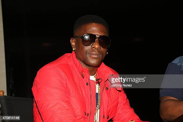 Lil Boosie aka Boosie Badazz attends his Boosie Badazz 'Touch Down 2 Cause Hell' Album Listening Session at Atlantic Records on April 22 in New York...