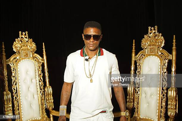 Lil Boosie attends the Lil Boosie Press Conference at the W Hotel New Orleans on march 10 2014 in New Orleans Louisiana