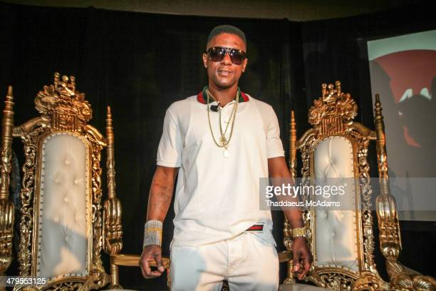 Lil Boosie attends The LIL Boosie press conference at W Hotel New Orleans on March 10 2014 in New Orleans Louisiana