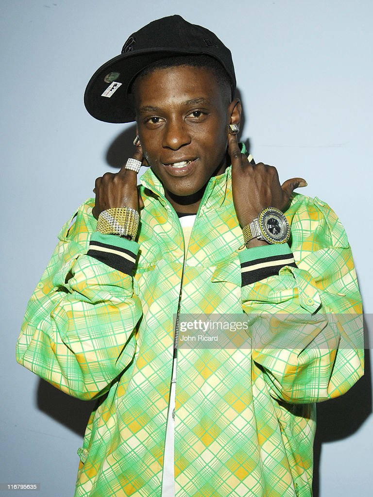 Lil' Boosie during Fantasia and Lil' Boosie Visit MTV's 'Sucker Free' January 23 2007 at MTV Studios in New York City New York United States