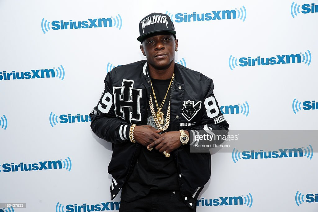 Lil Boosie visits at SiriusXM Studios on April 24, 2014 in New York City.